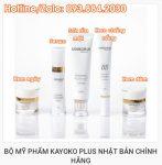 Bộ mỹ phẩm Kayoko Plus cao cấp của Nhật Bản 5 in 1